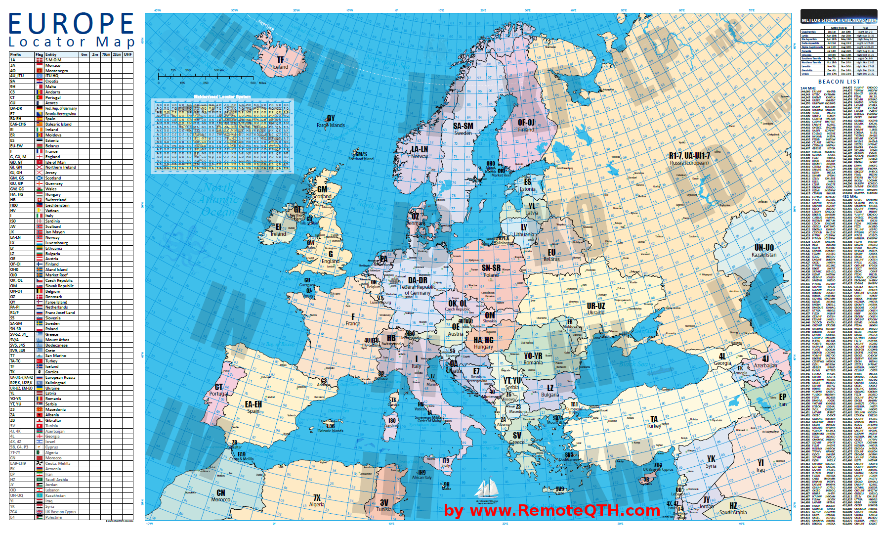 Europe locator map europe locator vhf uhf qth map gumiabroncs Image collections