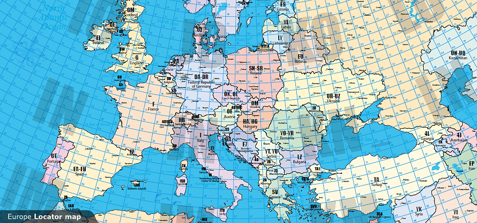 RemoteQTHcom Remote Control Of Your Amateur Radio Station - Us maidenhead grid square map