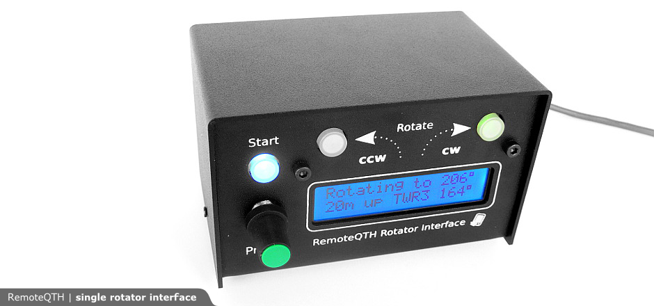 Remoteqth Single Rotator Interface